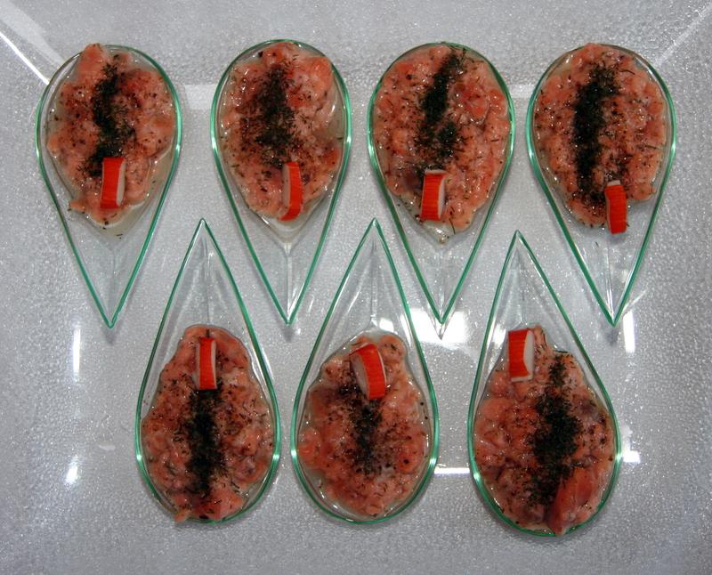 cuillères fruits de mer