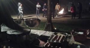 autour du feu