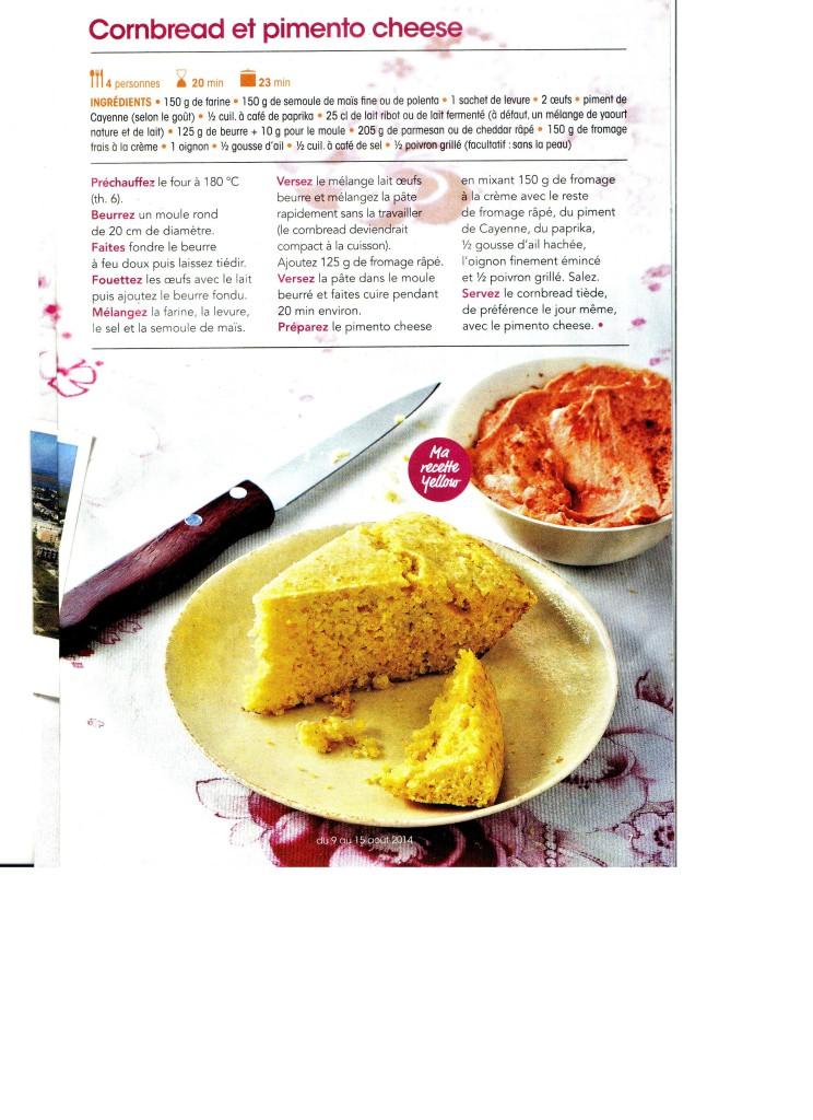 cornbread et pimento cheese